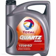 TOTAL QUARTZ 5000 15W40 5L